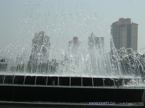 乐从家具城广场-喷泉水景